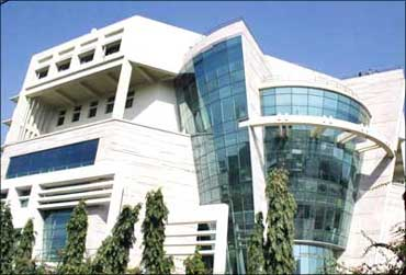 Wipro's green building at Gurgaon.