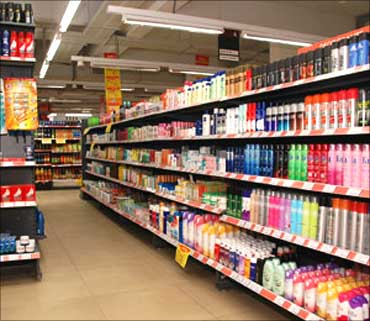 FMCG cos less impacted by slowdown.