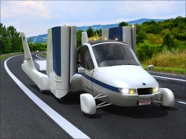 Want to buy a flying car? Wait till 2011