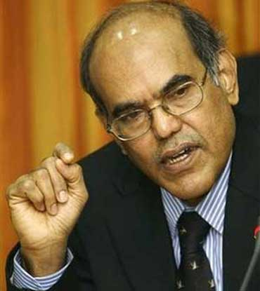 RBI Governor, D Subbarao.