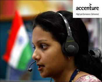 Accenture India. The image is only for representation.