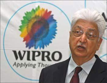 Wipro chief Azim Premji.