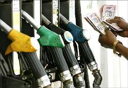 A petrol pump
