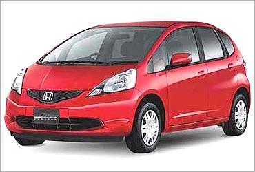 Honda Jazz.