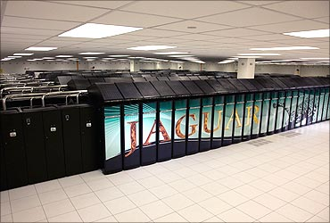 Jaguar supercomputer.