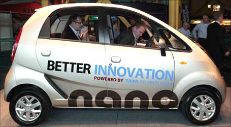 Tatas' innovation, Nano car.