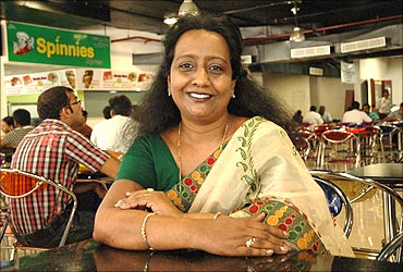 "'Starting from merely 50 paisa per day, Mrs. Patricia Narayan now earns INR 2 lakh a day. She started her career 31 years ago as an entrepreneur, selling eateries from a mobile cart on the Marina beach a midst all odds. Today, she has overcome the hurdles and owns a chain of restaurants.</p> <p>She married against the will of her parents. Unfortunately, the marriage failed but her parents never forgave her and she was on her own along with 2 children.</p> <p>""I knew I should either succumb to the burden or fight; I decided to fight my lonely battle."" she said. She started selling pickles, squashes and jams she made at home.</p> <p>However, the turning point in her life came when she started her own cart on Marine Drive, Mumbai  in the year 1980. This gave her identity and exposure. According to her, the Marina beach was her business school, her MBA. On the first she just sold one cup of coffee, making 50 paise the first day. But she never lost hope and earned as high as 2500 rs a day.</p> <p>One day the Slum Clearance Board gave her an offer to run the canteen at their office with a proper kitchen. The chairman met her during morning walk. Thereafter, she never looked back.</p> <p>In 2004, life again took an ugly turn when she lost her daughter in a car accident along with her son-in-law. This was a huge setback for her. The ambulance refused to carry their dead bodies. Finally, somebody carried all the dead bodies in the boot of a car. She couldn't bear the scene and broke down.</p> <p>That is when she decided to keep an ambulance on that very spot to help people whether the victims are alive or dead. </p> <p>Pain is an inevitable part of life and it must not stop us from moving forward as 'moving is life' and 'still is dead'. Her journey was briefly halted by her daughter's death but it did not take permanently pause. A couple of years later, she set up 'Sandeepha' restaurant along with her son in memory of her daughter.</p> <p>Her dedication and hardwork helped Sandeepha attain great heights in the hospitality sector. Today, Sandeepha boasts of channelising sales through 14 outlets across Chennai, earning INR 2 lakh on an average daily basis. She was awarded 'FICCI Entrepreneur Of The Year' in 2010.'"