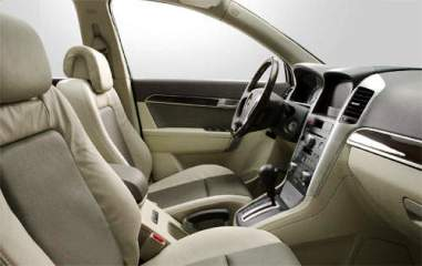 Interiors of Chevrolet Captiva.