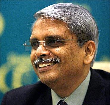 Infosys Technologies CEO S Gopalakrishnan.