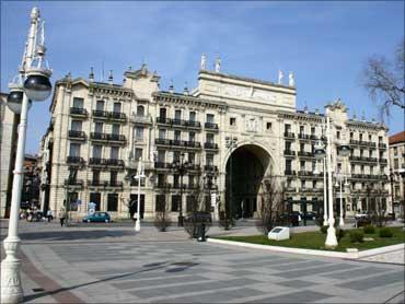 Banco de Santander building.