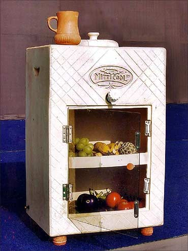 Mitticool fridge.
