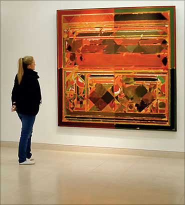 Raza's most expensive painting.