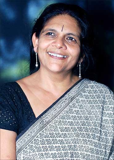 Chetna Sinha, Founder, Mann Deshi Mahila Sahakari Bank.