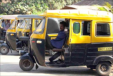 Autorickshaw get hi-tech.