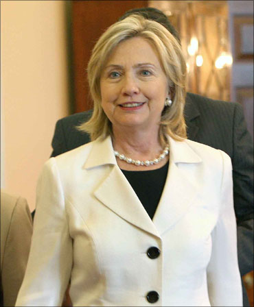 US Secretary of State Hillary Clinton.