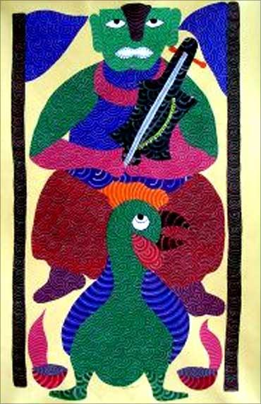 Rare Indian Art.