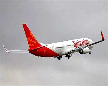 SpiceJet flies high.