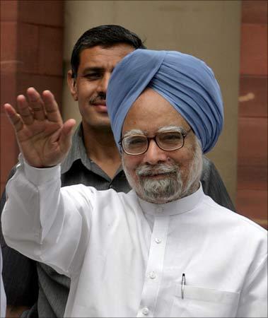 Prime Minister Manmohan Singh.