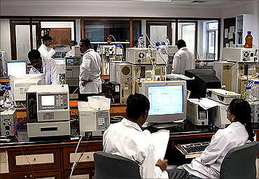Quality Control Lab, Hyderabad.