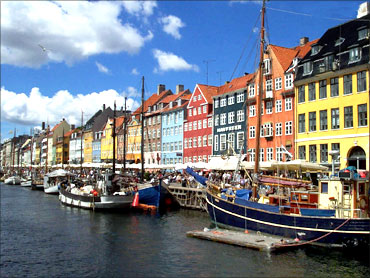 Danish economy has the lowest income inequality.