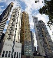 Singapore's financial district.