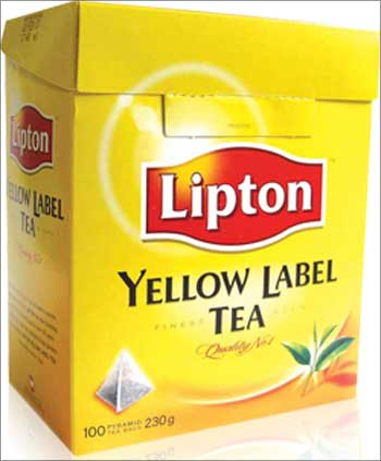 Lipton Yellow Label.