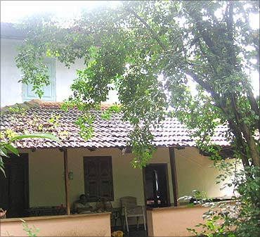 A traditonal house in Kozhikode.