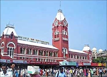 Chennai Railway Station.