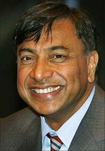 L N Mittal.