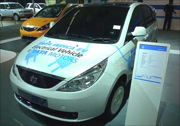Electric vehicle from Tata Motors.