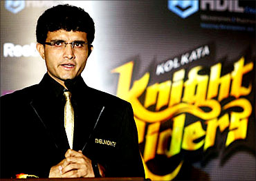 Sourav Ganguly.