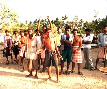 Workers from Jharkhand.