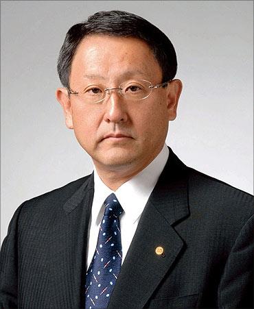 Akio Toyoda, CEO, Toyota.
