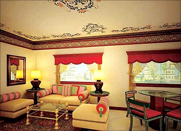 The Presidential Suite in Maharajas Express.