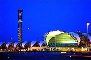 Bangkok Airport.