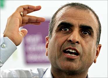 Sunil Mittal, chairman, Bharti Airtel.