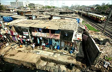 Dharavi, in Mumbai is Asia's biggest shantytown.