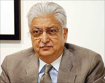 Wipro chairman Azim Premji.