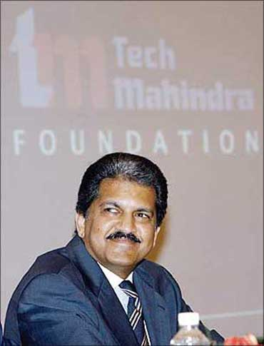 Mahindra and Mahindra vice chairman Anand Mahindra.