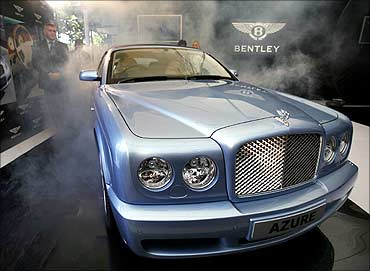 Bentley's new Azure convertible.