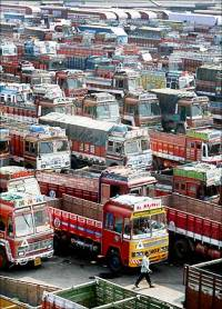 Truckers' strike