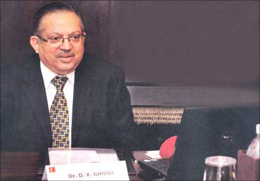 D K Ghosh, chairman and managing director of ZTE India.