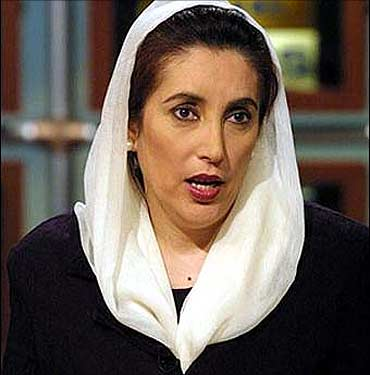 Benazir Bhutto.