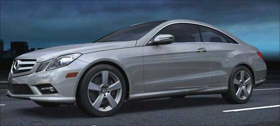 Check out the new Mercedes-Benz E-Class Coupe