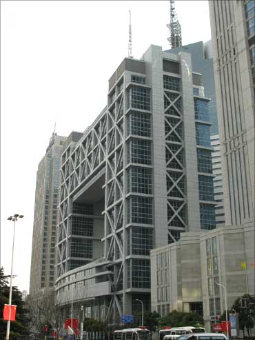 Shanghai Stock Exchange building.