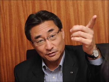 Kiminobu Tokuyama, CEO, Nissan Motor India.