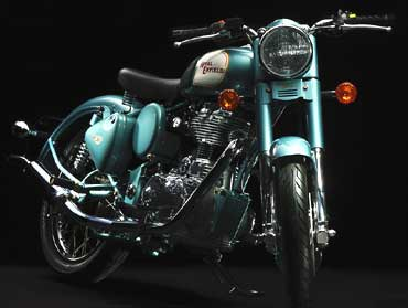 Royal Enfield Classic.