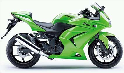 Kawasaki Ninja 250R.
