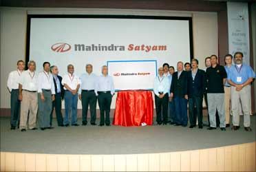 Mahindra group takes over Satyam.