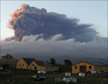 The Iceland volcano that has caused havoc.